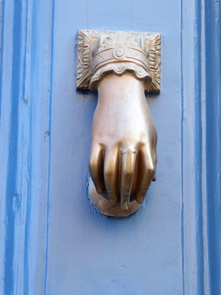 Handy knocker, Marseillan by Sara Spencer