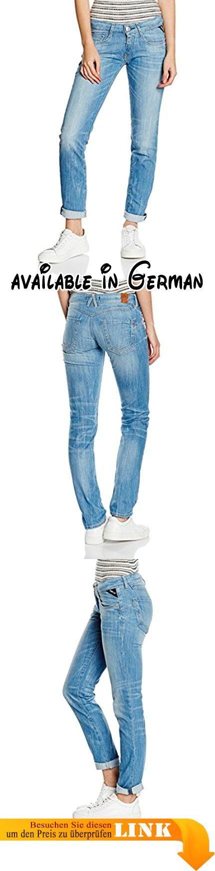 Replay Damen Jeanshose Radixes, Blau (Blue Denim 10), W27/L32 (Herstellergröße: 27). Slim. Diese Röhre von Replay sollte in keinem gut sortierten Kleiderschrank fehlen. Die schmal geschnittene Jeans passt sich dank des Stretch-Anteils und ihrer robusten Qualität perfekt an die Haut an. Mit engem Print-Shirt oder Longbluse, High Heels und interessanten Accessoires gelingen sexy Outfits wie von selbst. Die Radixes von Replay ist ein Must-Have für jede moderne Frau.. Qualitativ
