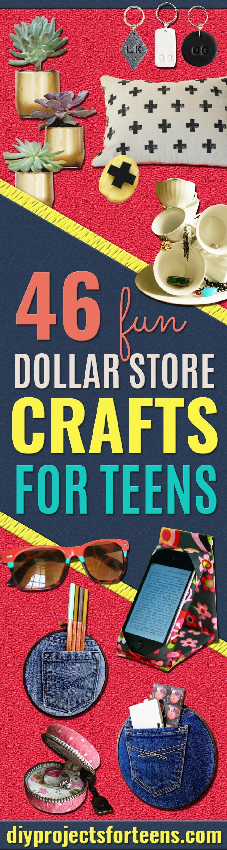 Fun Dollar Store Crafts for Teens 3112