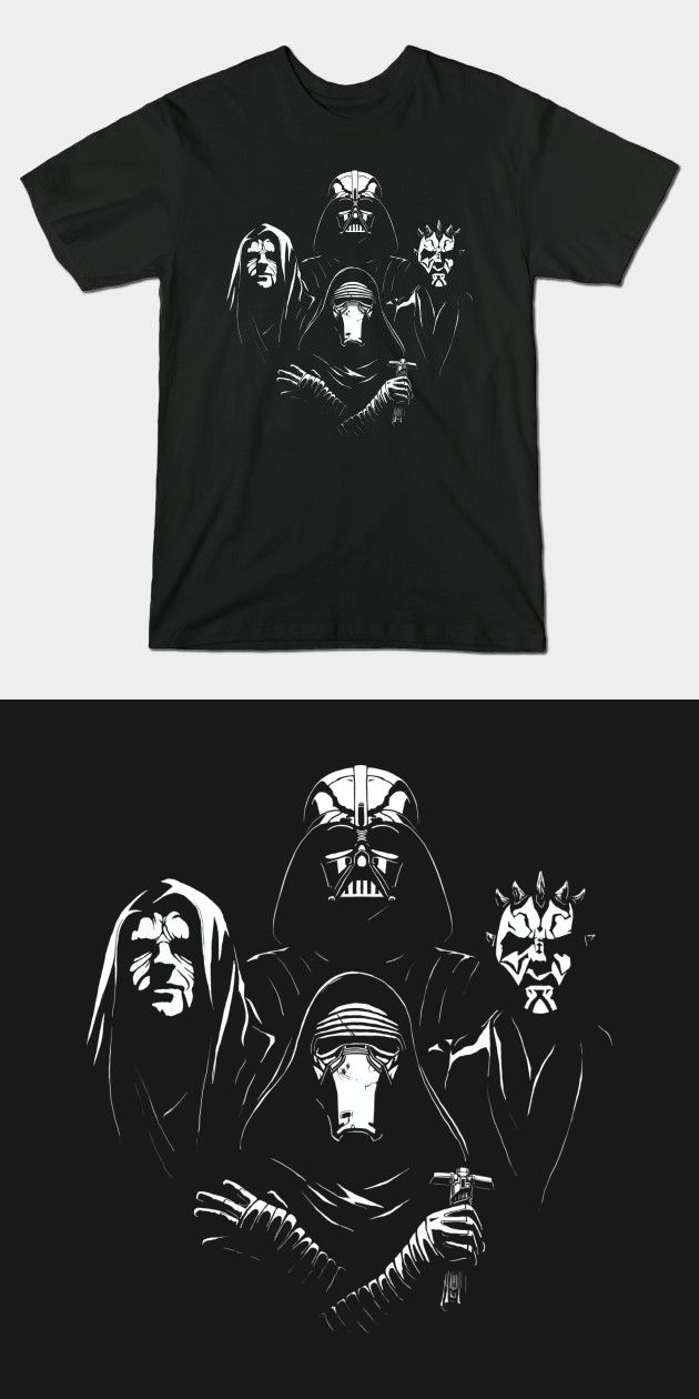 Star Wars Bohemian Rhapsody T Shirt   This awesome Sith Queen mashup design features Darth Vader, Darth Maul, Darth Sidious (The Emperor) and Kylo Ren.   Visit http://shirtminion.com/2015/11/star-wars-bohemian-rhapsody-t-shirt/