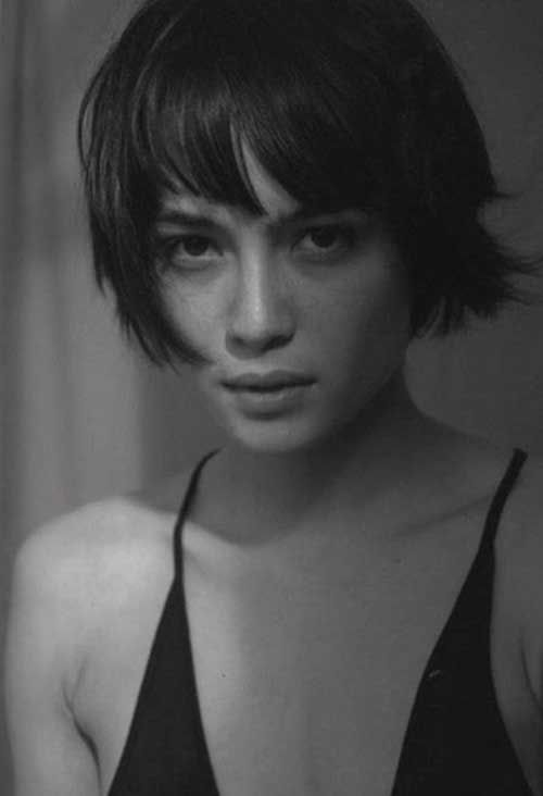 Short Bob Dark Hair