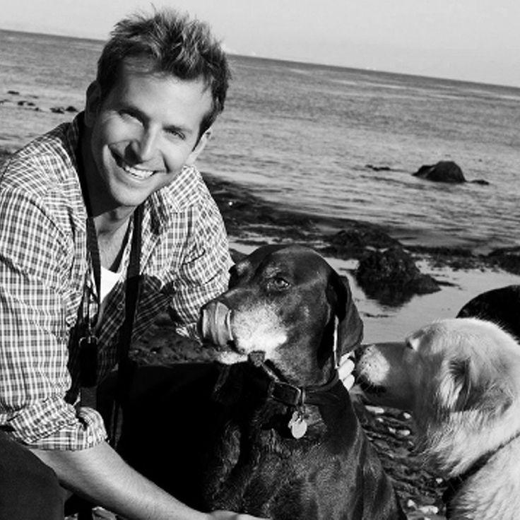 Bradley Charles Cooper & his Dog