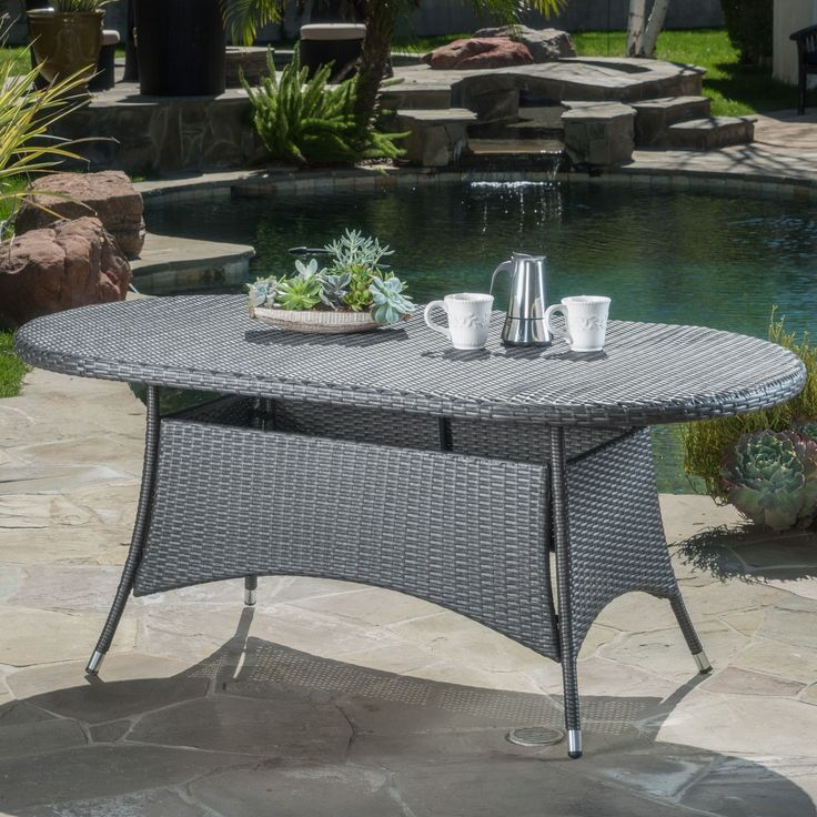 Love These Cube Tables For Patio Or Living Room Made From: 25+ Best Ideas About Oval Dining Tables On Pinterest
