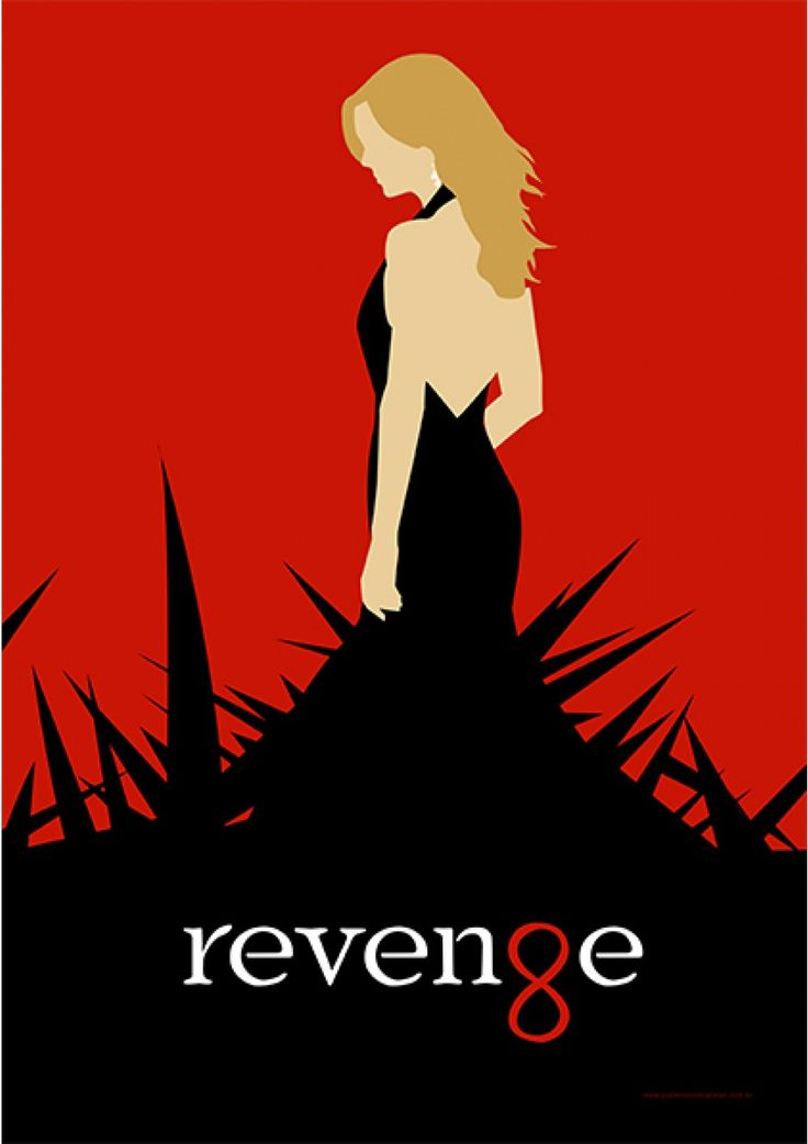 Revenge - Séries | Posters Minimalistas