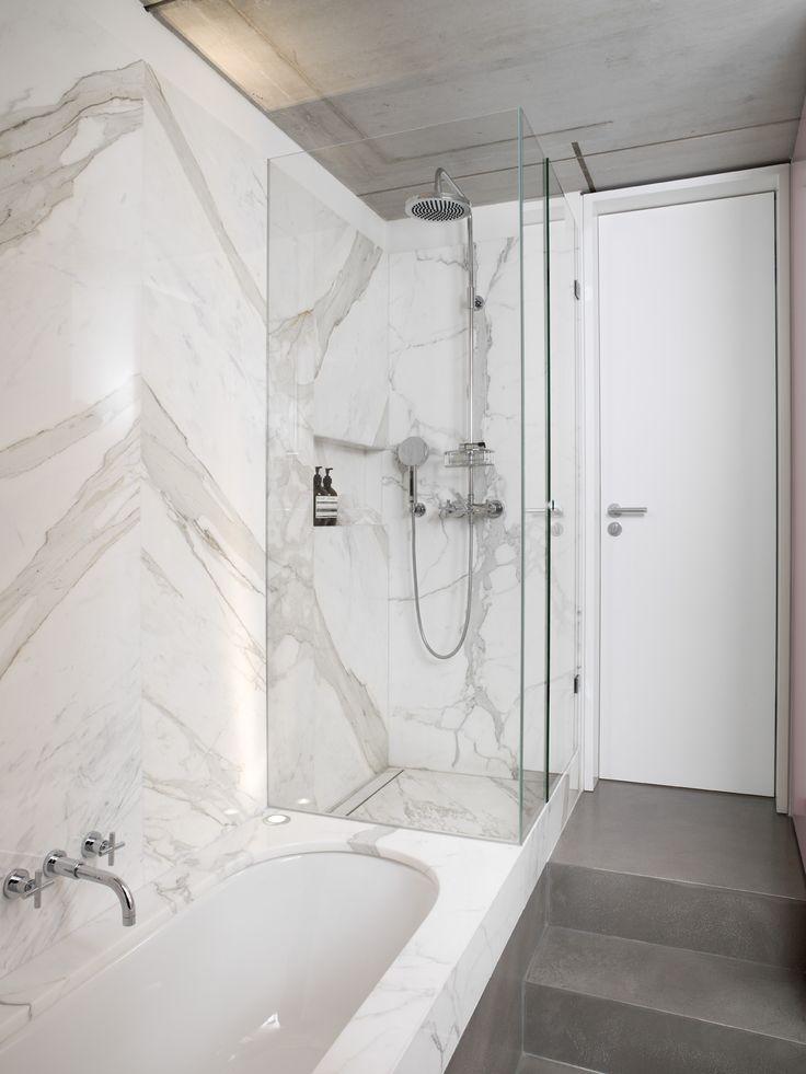 die besten 17 ideen zu marmor duschen auf pinterest marmorb der carrara marmor und hipster. Black Bedroom Furniture Sets. Home Design Ideas