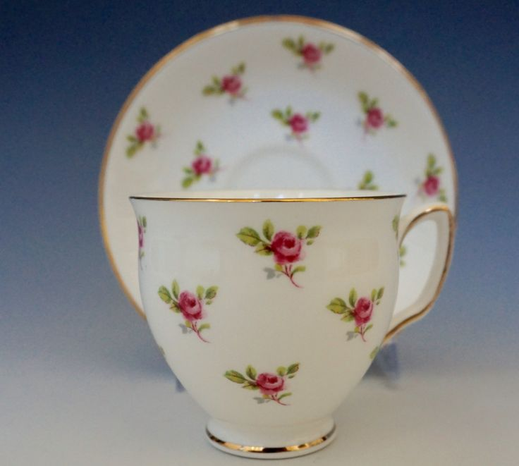 Vintage Duchess Bone China Chintz Teacup and Saucer! Great