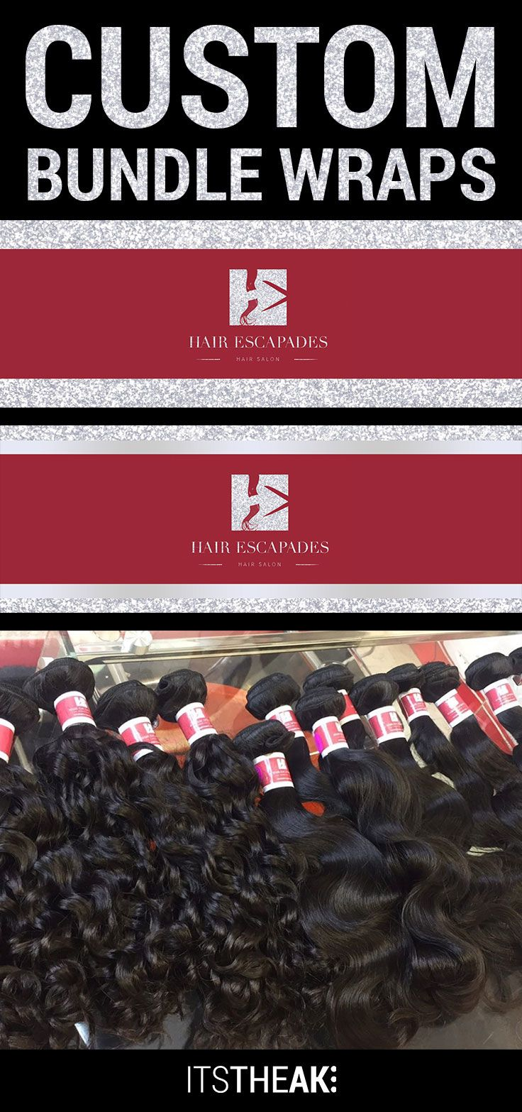 Bundle Wraps Bundle Wraps Hang Tags Pinterest Hair