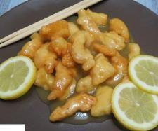 Pollo al limon al estilo chino