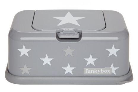 Funkybox, Förvaringsbox för våtservetter, Ljusgrå