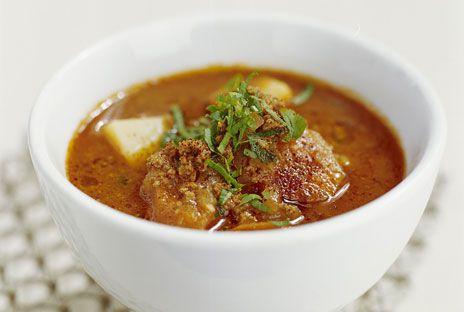 En matig köttfärsoppa som gärna kan lagas i så stor mängd att den räcker till flera måltider. Perfekt att ta med i matlåda.