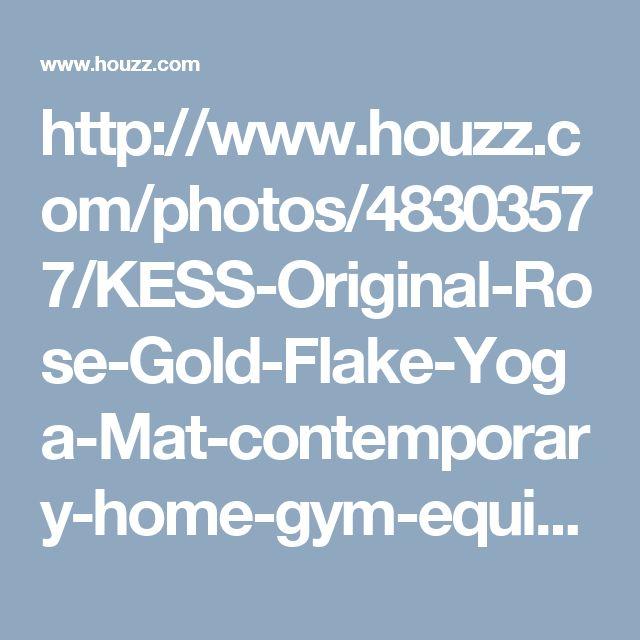 http://www.houzz.com/photos/48303577/KESS-Original-Rose-Gold-Flake-Yoga-Mat-contemporary-home-gym-equipment