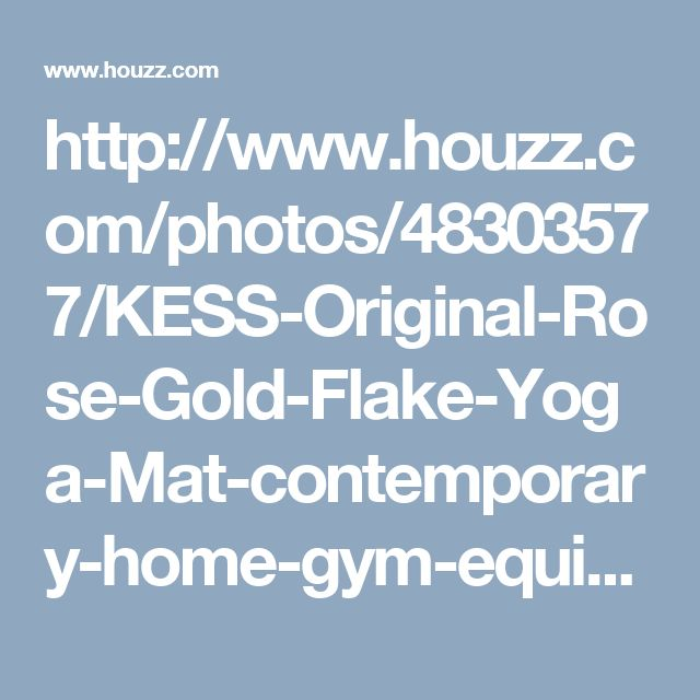 http://www.houzz.com/photos/48303577/KESS-Original-Rose-Gold-Flake-Yoga-Mat-contemporary-home-gym-equipment