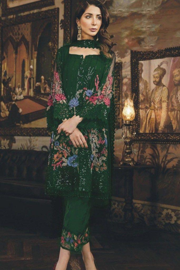 MARIA B NEW LINEN Designer 3pcs Salwar Kameez INDIAN PAKISTANI WEAR LAST ONE!!