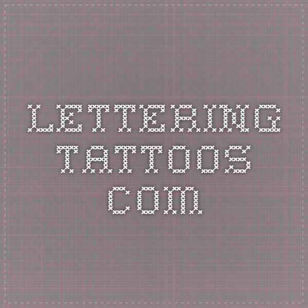Best 25 Tattoo Lettering Generator Ideas On Pinterest: The 25+ Best Tattoo Lettering Generator Ideas On Pinterest