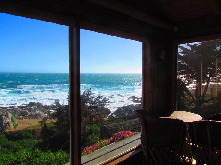"""Pablo Neruda´s inspiration view"", Isla Negra, Chile"