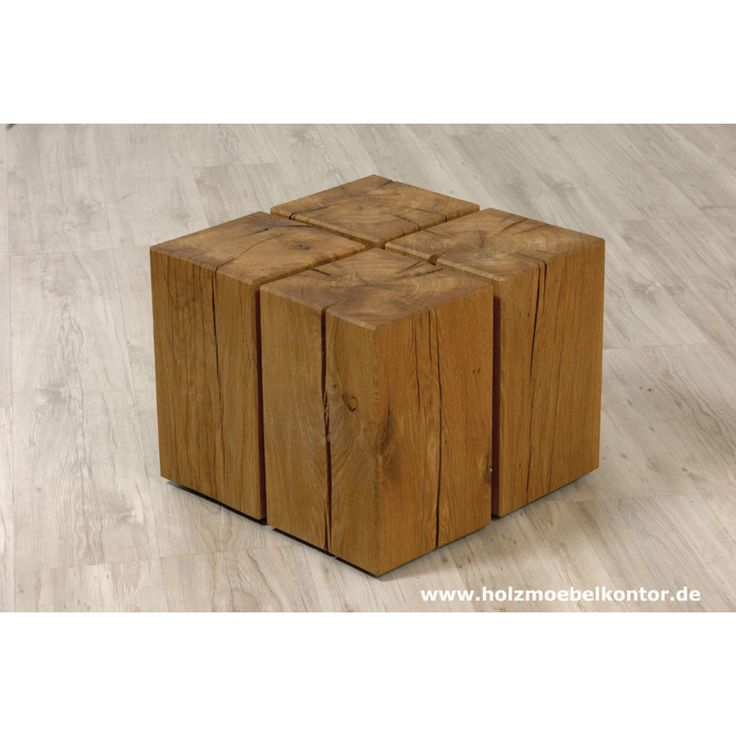 Couchtisch Cube Holzblock Design Tisch Artikelnummer 20011 Couchtisch Mit Rollen Holzblocke Couchtisch