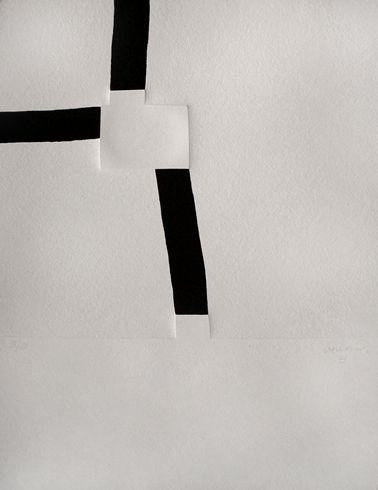 """Eduardo Chillida Serigrafía con Relieve """"Aromas""""  2000  53.5 x 42.5 cm  Tirada de 120 ejemplares  Numerada y firmada a mano  Cat nº 00008  Precio: 3.200 €"""