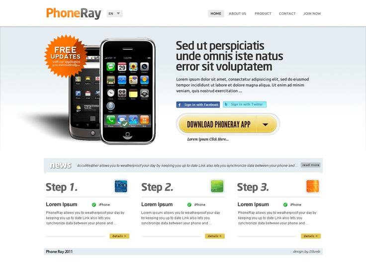 web design site prezentare accesorii gsm