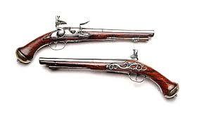 wapens waren heel belangrijk en werden ook gehandeld