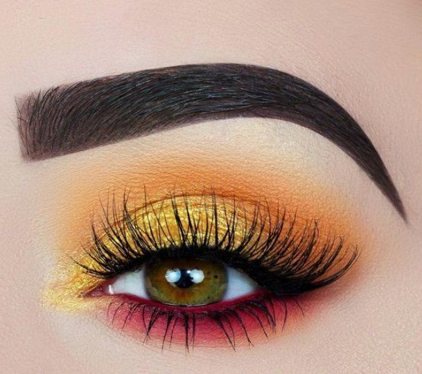 55 Most Sexy and Eye-Catching Orange Makeup Tips for Prom and Weekend Party