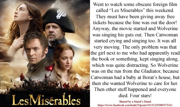 an overview of the plot of les miserables Les misérables jean valjean: summary and analysis homework help jean valjean: summary and analysis print the literal meaning of les miserables is the.