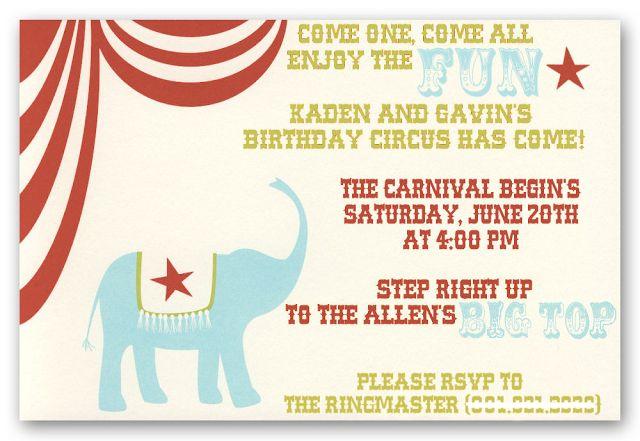 Kara's Party Ideas Big Top Circus Carnival Party! | Kara's Party Ideas