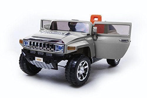Special Offers - Limitted 12v Ride on Car Hummer HX  Licensed Toy for Kids Boys and Girls with Remote Control- Grey - In stock & Free Shipping. You can save more money! Check It (March 27 2016 at 08:37PM) >> http://rchelicopterusa.net/limitted-12v-ride-on-car-hummer-hx-licensed-toy-for-kids-boys-and-girls-with-remote-control-grey/