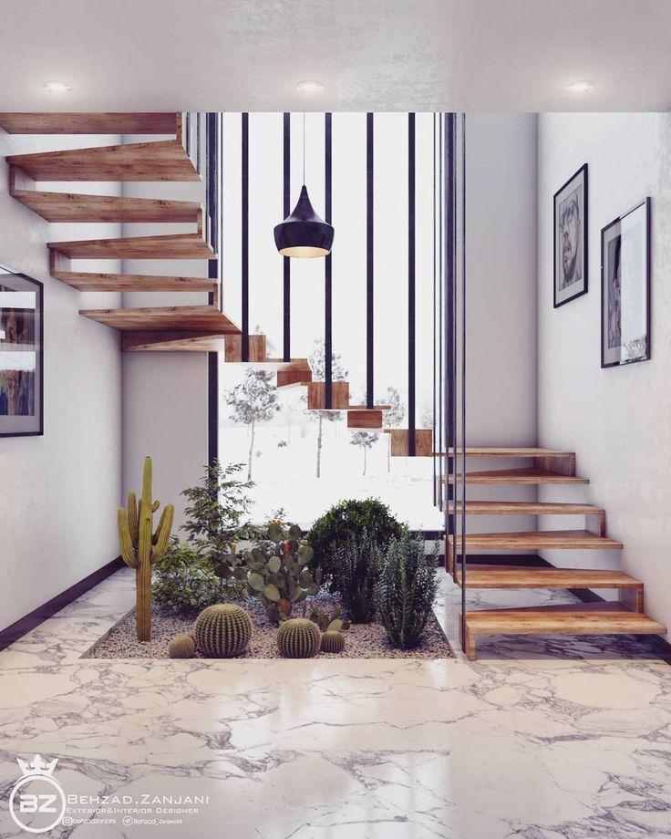 behzadzanjani On Instagram Staircase Design Modeling And Visualization Behzadzanjani I Hope You L Treppenhaus Dekorieren Haus Interieu Design Treppen Design