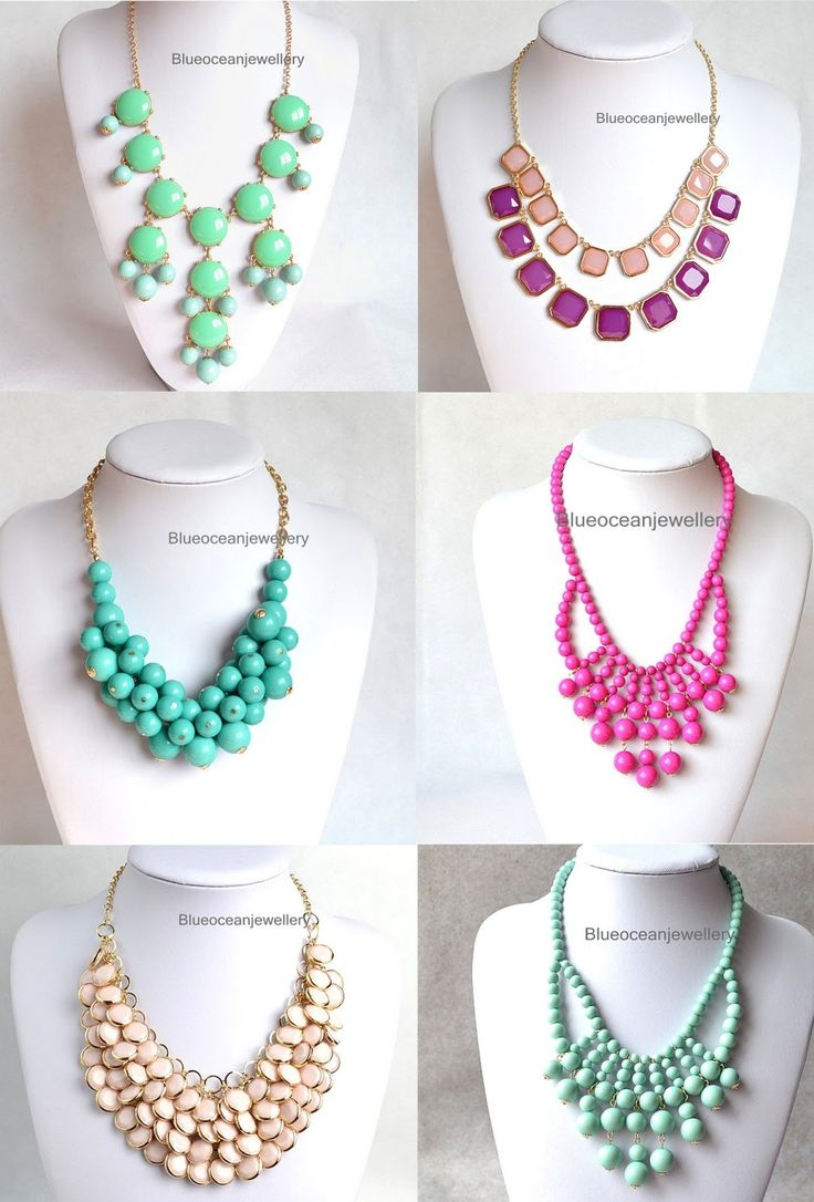 I AM IN LOVE WITH STATEMENT NECKLACES!!!!!!!!!