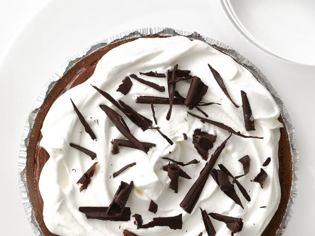 Food Network Magazine's Chocolate Cream Pie #ChocolatePie #SummerDessert #Easy: Food Network, Network Kitchen, Chocolate Pies, Chocolates, Cream Cheese, Pie Recipes, Chocolate Cream Pies