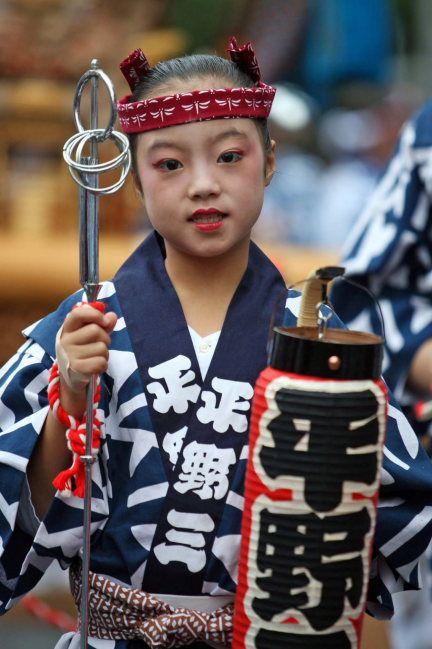 In summer festival of Japan, Fukagawa, Tokyo