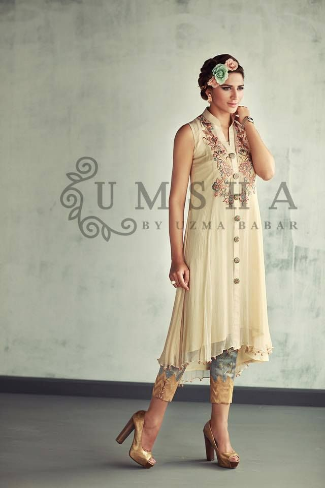 Festive Chic Eid Buds blossoms Dresses Collection '15 (9)