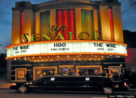 """""""The Senator"""" Theatre in Baltimore, MD (courtesy of Bill Hughes)"""