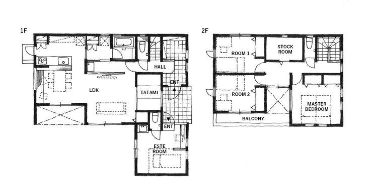 カリフォルニアスタイルの住居と店舗併用住宅   施工事例   オレンジハウス吉祥寺