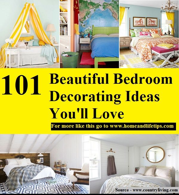 101 Beautiful Bedroom Decorating Ideas Youu0027ll Love