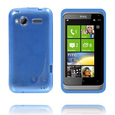 TPU Shell Transparent (Blå) HTC Radar Deksel