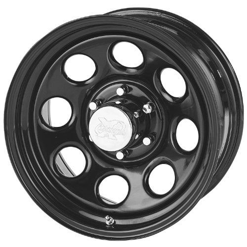 Pro Comp Steel Wheels Series 97 Wheel with Gloss Black Finis - satin black finish