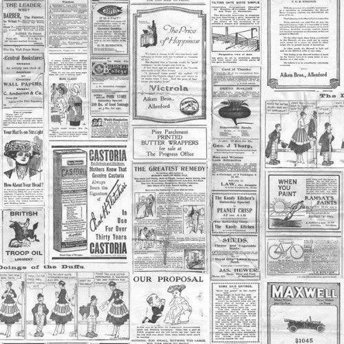 Black+/+White+/+Grey+-+G56143+-+Old+Newspaper+-+Memories+2+-+Galerie+Wallpaper