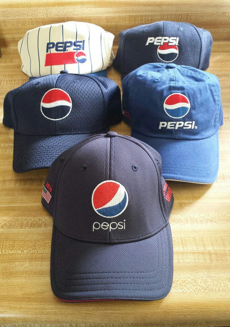 1991 - 2009 pepsi hats.