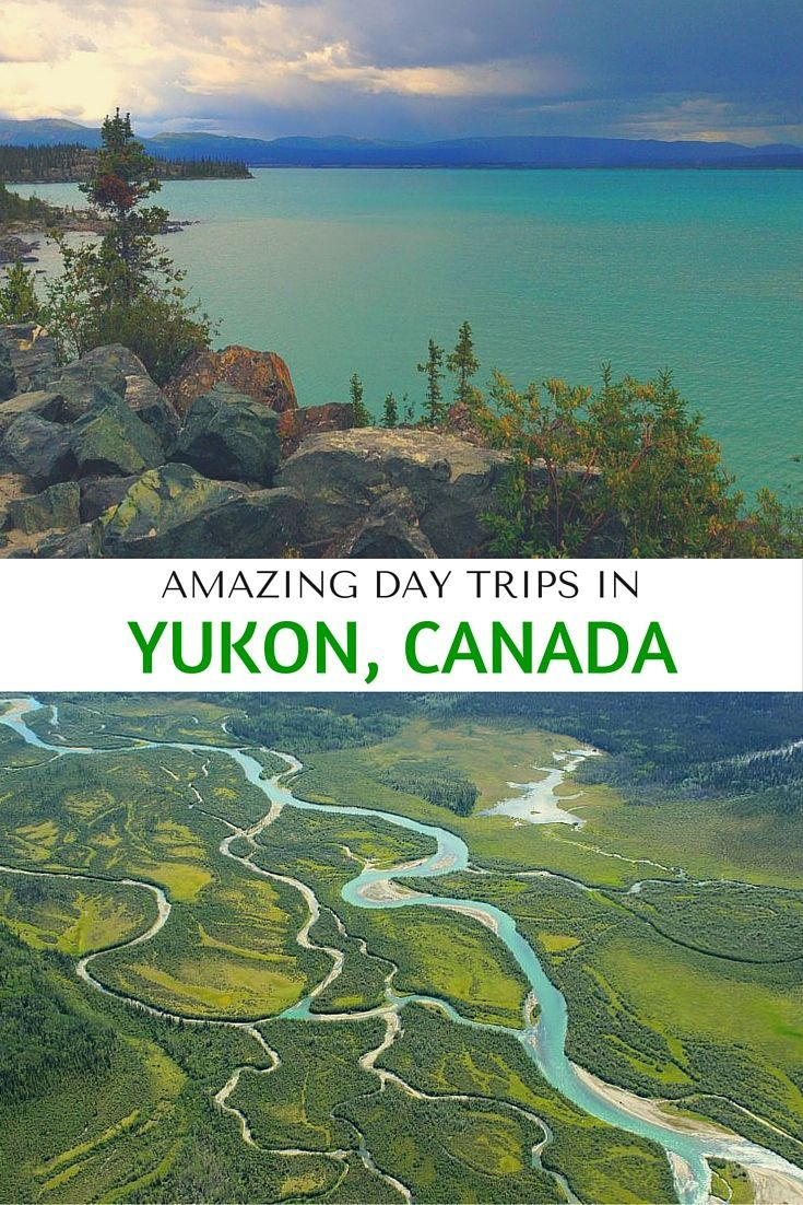 Amazing day trips you should take in Yukon, Canada, including Kathleen Lake, white water rafting, and a trip to Kluane National Park.