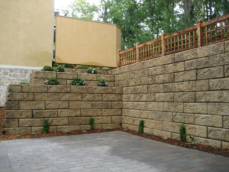 The 25 best Large retaining wall blocks ideas on Pinterest