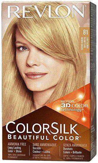 Revlon Colorsilk Beautiful Color 81 Light Blonde1 Kit Pack Of 6 Review