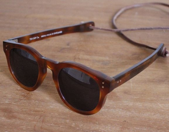 TENDER STORES - Hand made cotton acetate sunglasses. Made in UK.