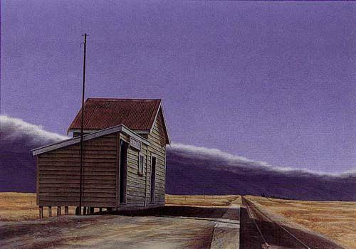 Sutton by Grahame Sydney for Sale - New Zealand Art Prints