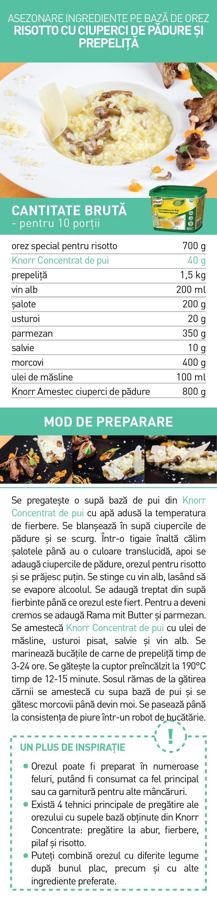 Asezonare ingrediente pe baza de orez  (II) - RETETE