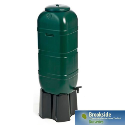 100L Litre Slimline Garden Water Butt Rain Tank Container Kit Inc Stand & Filler   eBay