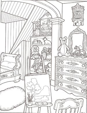 images of victorian coloring pages | ... to download an 8.5 x 11 printable [PDF] version of this coloring page