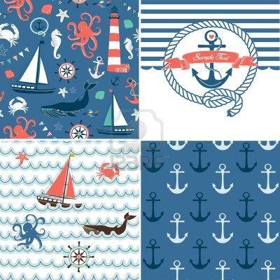 nautical pattern - Google Search