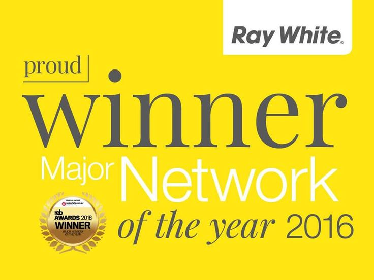 We are proud to announce that Ray White has won the Real Estate Business Major Network of the Year award for 2016! #REBawards #realestate #RayWhite