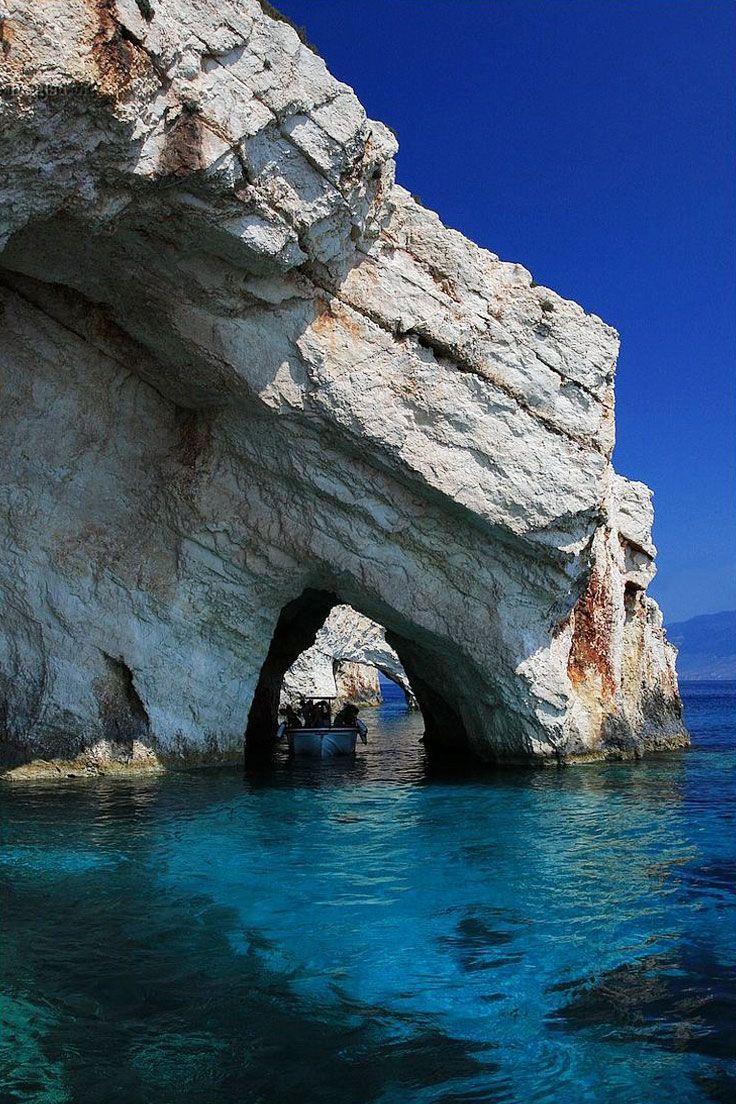 Blue Cave, Cape Skinari, Zakynthos
